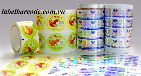 ribbon mực in wax resin DNP in tem pvc